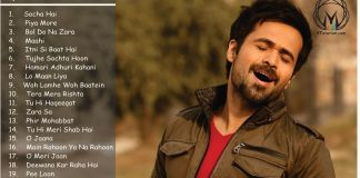 Best of Emraan Hashmi, Emraan Hashmi Songs