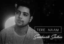 Tere Naam , Salman Khan , Unplugged Cover , Siddharth Slathia