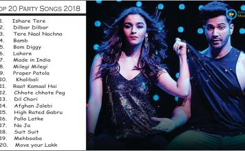 2018, best, best of bollywood, best party songs, bollywood, bollywood party songs, latest, new, new year, new year party songs, New year songs, party, party songs, top 10 party songs, top 20 songs, Guru Randhawa, Neha Kakkar, Badshah, Zack Knight, Mika Singh, Tulsi Kumar, Yo Yo Honey Singh, Diljit Dosanjh, Ishare Tere, Dilbar, tere naal nachna, bamb, bom diggy, lahore, made in India, mileage mileage, Patola, kalibali, Dhvani Bhanushali, Ikka Singh, Jasmin Walia
