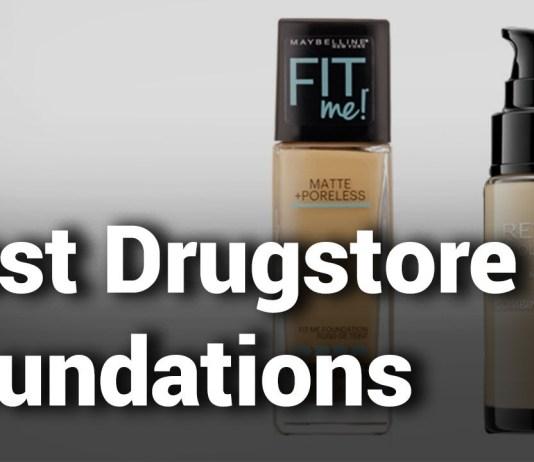 11 Best Drugstore Foundations 2019|