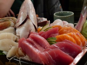 Sashimi Platter - Eat Tokyo | Yvanne Teo
