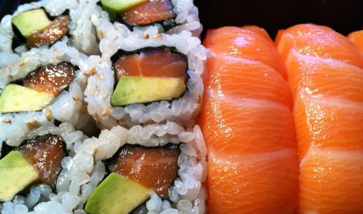 Salmon maki & nigiri | Kami Japanese Restaurant| Yvanne Teo