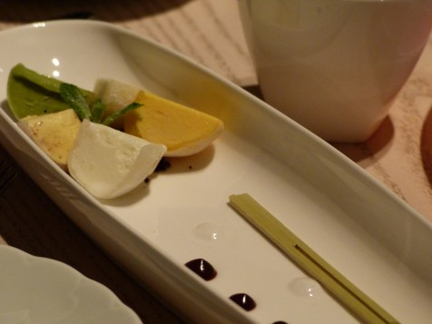mochi ice cream at Sake no Hana | ytTastes | Yvanne Teo