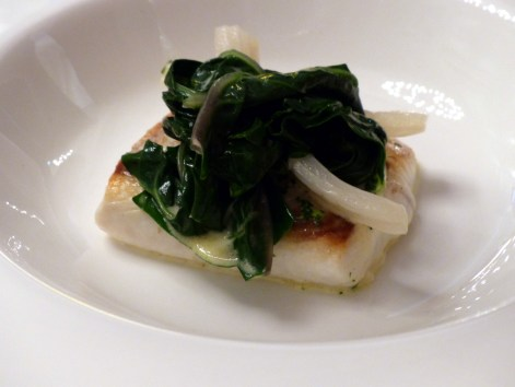 sea bass and kale at Berners Tavern | ytTastes | Yvanne Teo