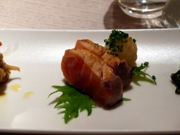 seared salmon at Sake no Hana | ytTastes | Yvanne Teo