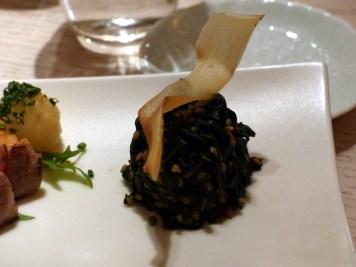 spinach with sesame at Sake no Hana | ytTastes | Yvanne Teo