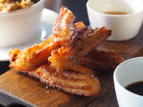 goats cheese churros with truffle honey | ytTastes | Yvanne Teo