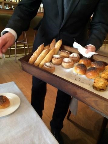 Bread selection at Pollen Street Social | ytTastes | Yvanne Teo