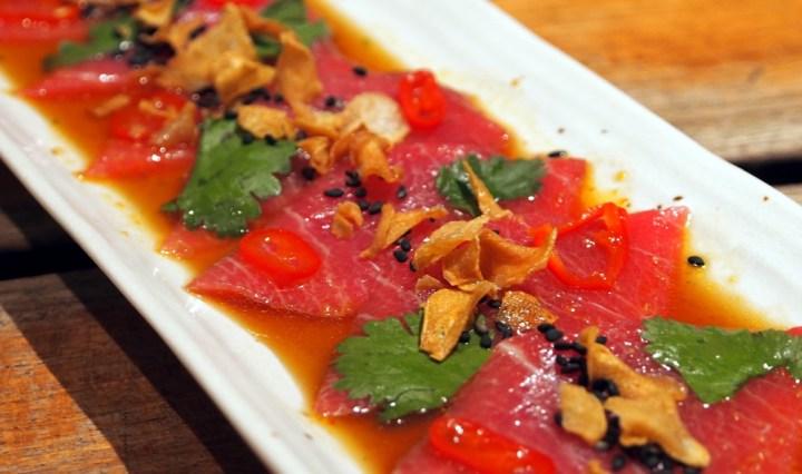 Zuma Knightsbridge tasting menu dish | yt Tastes | Yvanne Teo