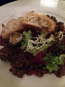 steak tartare at Little Social | ytTastes | Yvanne Teo