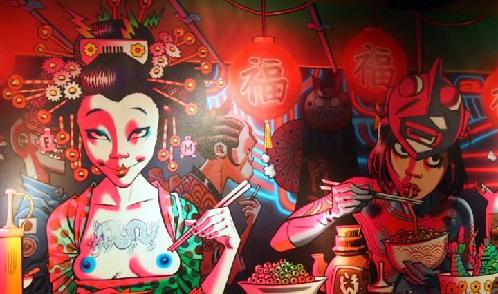 Shochu Kanteen wall art | ytTastes | Yvanne Teo