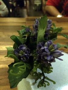salad bouquet | Locavore, Ubud, Bali | ytTastes | Yvanne Teo