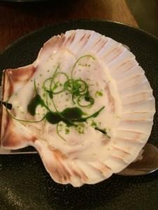 scallops with buttermilk at Portland Restaurant | ytTastes | Yvanne Teo