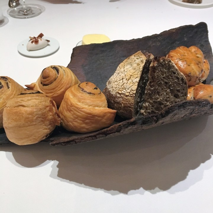 Bread selection | Odette Singapore