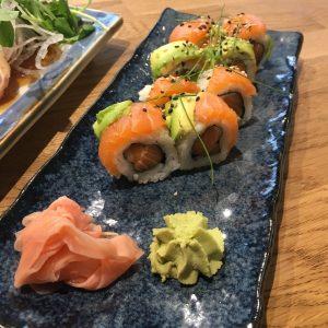Double Salmon Roll | Tanakatsu | Yvanne Teo