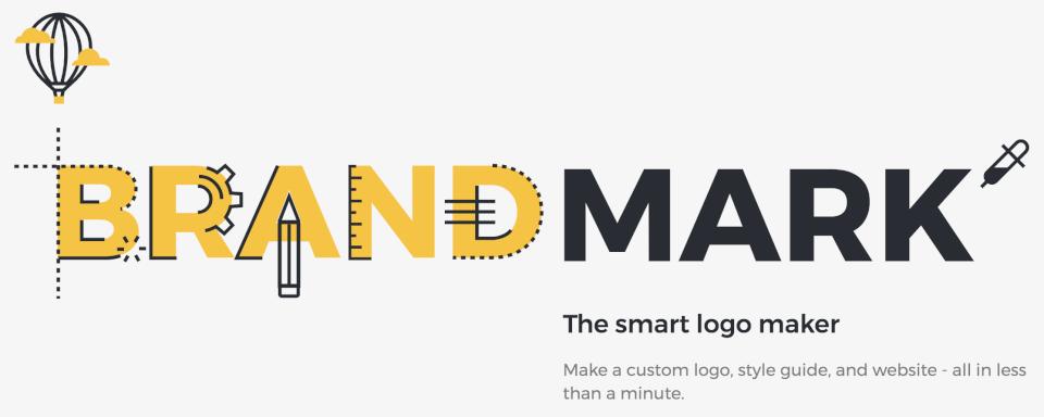 ロゴ自動生成サイトBrandmarkが面白い