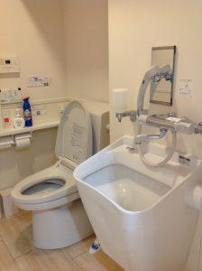 オストメイト用のトイレです