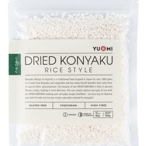 Dried Konyaku Rice