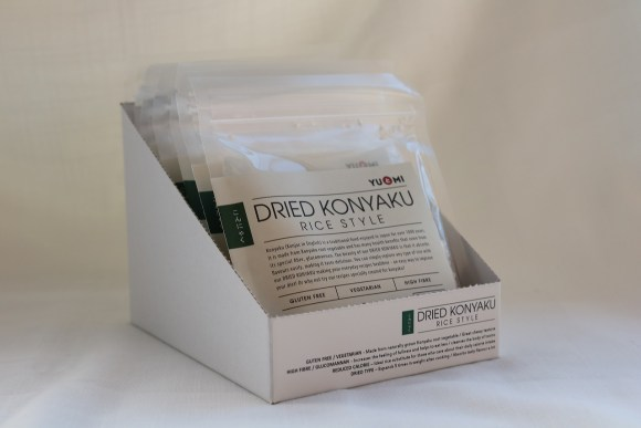 Dried Konyaku Rice box