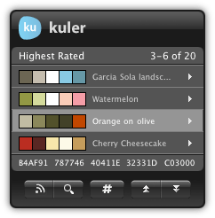 Adobe Kuler Widget