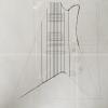 スルーネックギターの製作 フライングVとモダーンのハイブリッドにします?