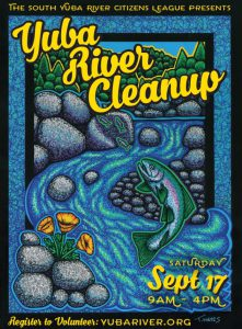 SYRCL Yuba River Cleanup Postcard