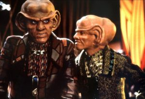 "The Ferengi of ""Deep Space 9."""