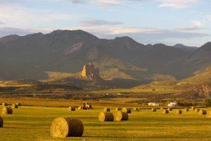 Photo of Colorado's North Fork Valley by Rita Clagget.