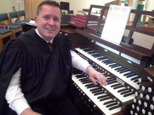 Organist Walt Strony