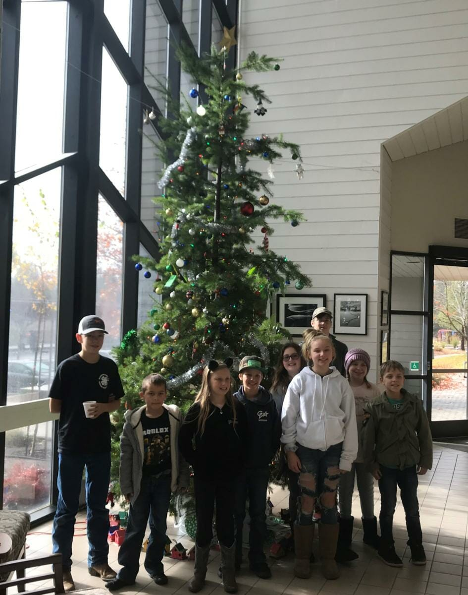Nevada County 4 H Clubs Bring Holiday Cheer To Rood Government Center Yubanet