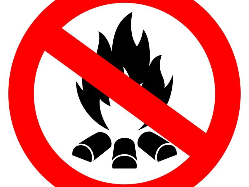 No campfires