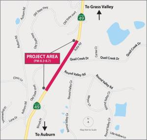 Hwy 49 safety improvement project 2021