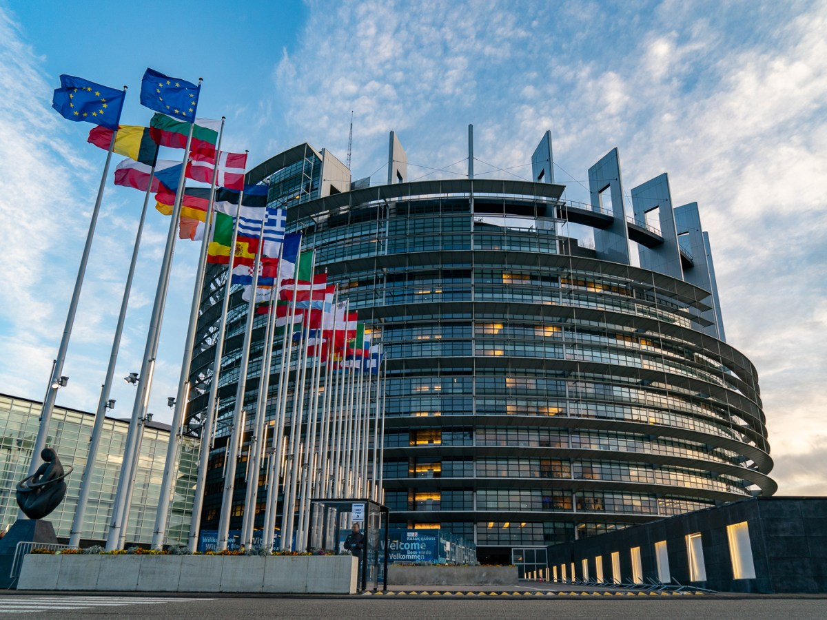 The European Parliament in plenary session in Strasbourg 2020