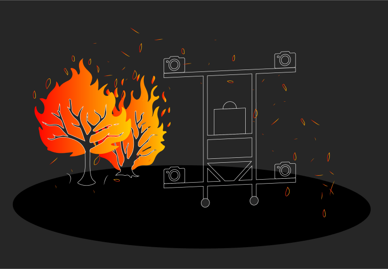 The details of how wildfire-spreading embers behave have largely been shrouded in mystery, so guidance on protecting buildings from them is thin. But NIST's new emberometer, which can track and size up the elusive particles, may shed some much needed light on the issue and help lay the foundation for cost-effective guidelines in building codes.