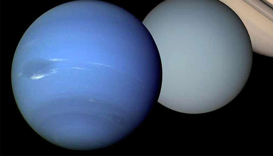 LLNL scientists have developed a new approach using machine learning to study with unprecedented resolution the phase behaviors of superionic water found in ice giants Uranus and Neptune.