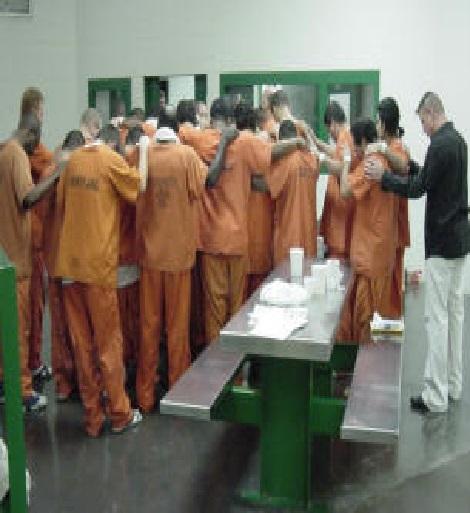 Ilustrasi: Pelayanan penjara (Foto: midamericaprisonministries)