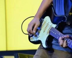 ギターボリューム・操作