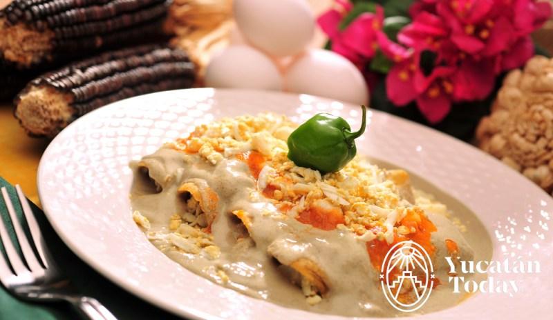 Papadzules cocina yucateca