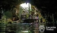 Cenote en Cuzamá