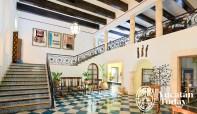 Hacienda Uxmal lobby