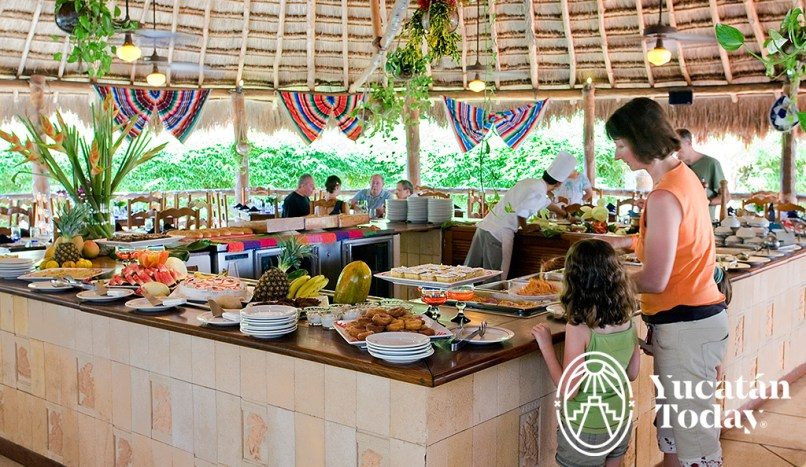 The Lodge Uxmal Buffet