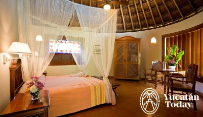 The Lodge Uxmal Royal Maya Bungalow Jacuzzi