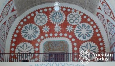 Uayma iglesia interior