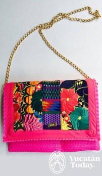 Color Amor bolsa rosa