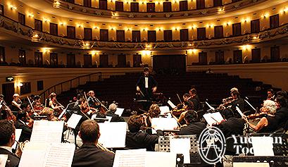 Orquesta Sinfónica Yucatán en Peón Contreras