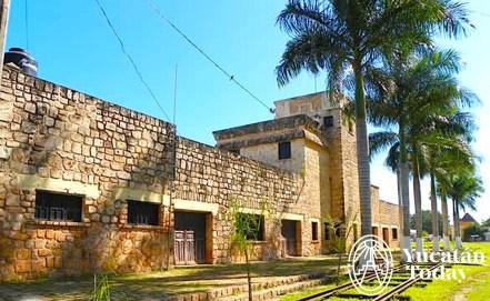 Oxkutzcab antigua estacion trenes