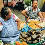 Comida Fabulosa en el Mercado de Mérida