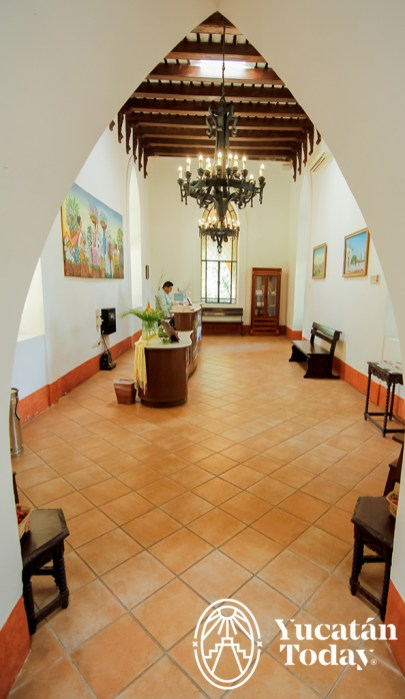 Hacienda Misne recepcion