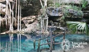 Xbatun cenotes Yucatan