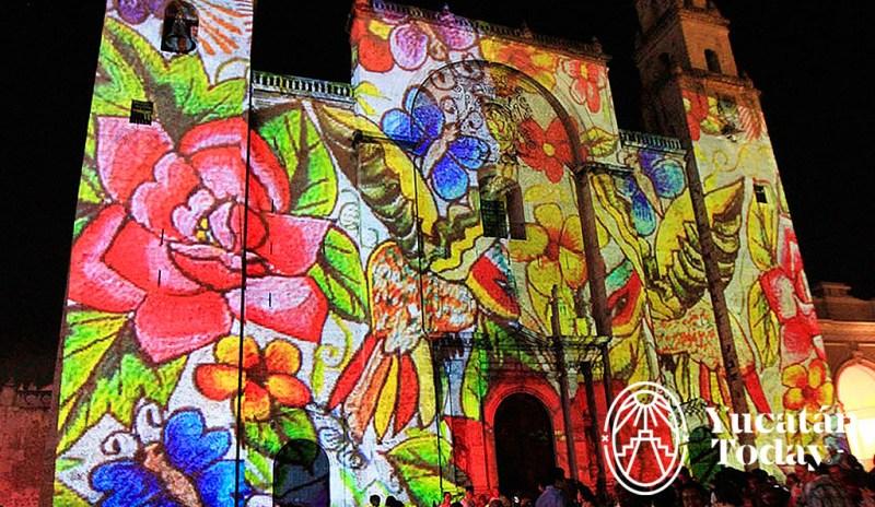 Piedras Sagradas Video Mapping @ Catedral de San Ildelfonso, Mérida   Mérida   Yucatán   México